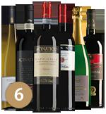 Proefpakket luxe wijnen december (6 flessen)