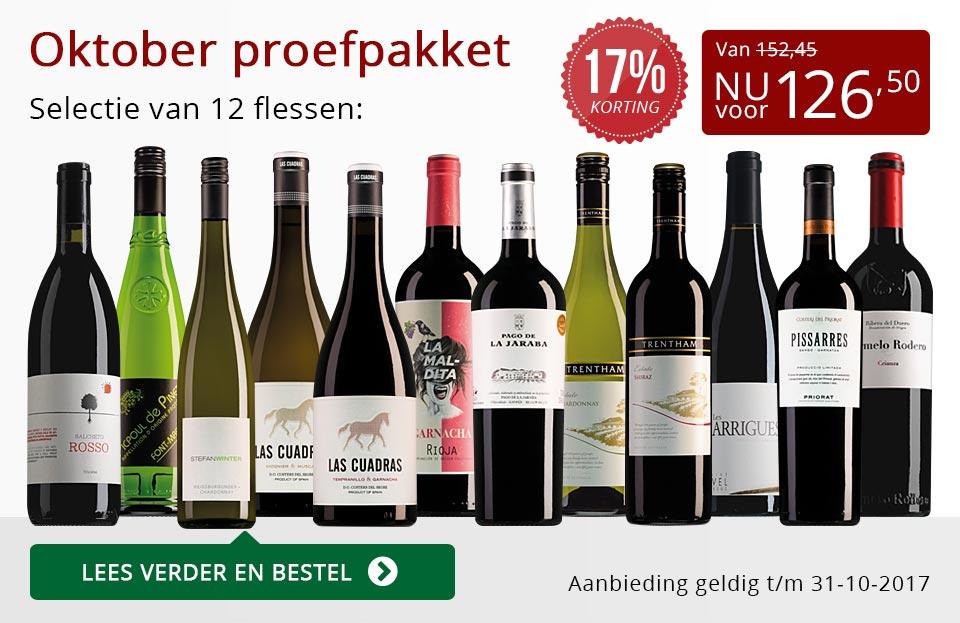 Proefpakket wijnbericht oktober 2017 (126,50) - rood