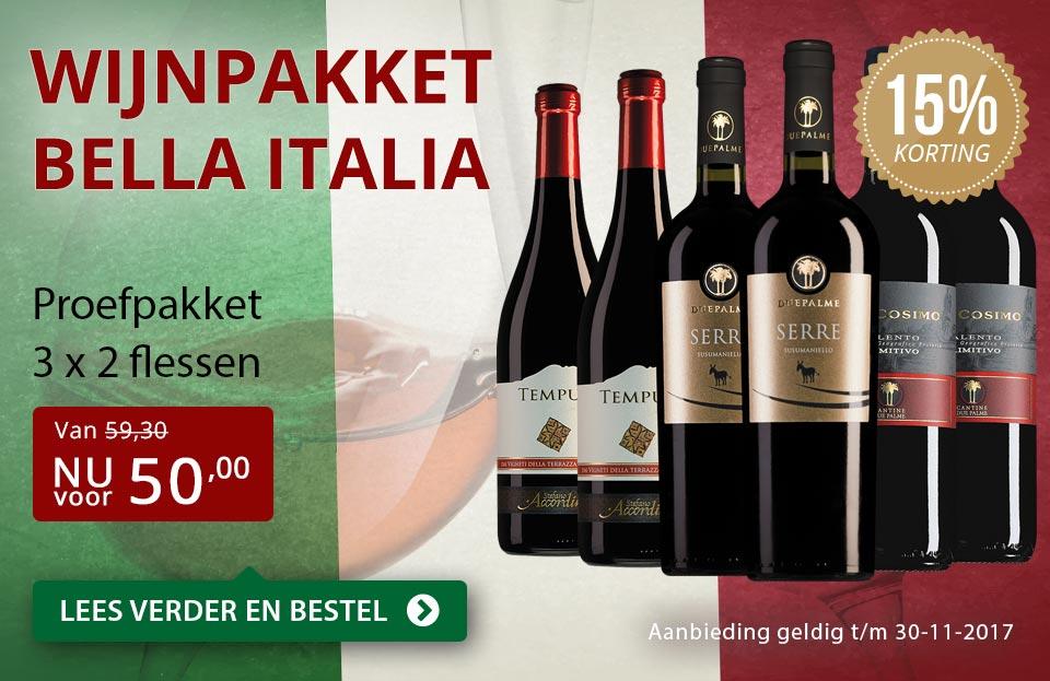 Proefpakket Bella Italia - rood