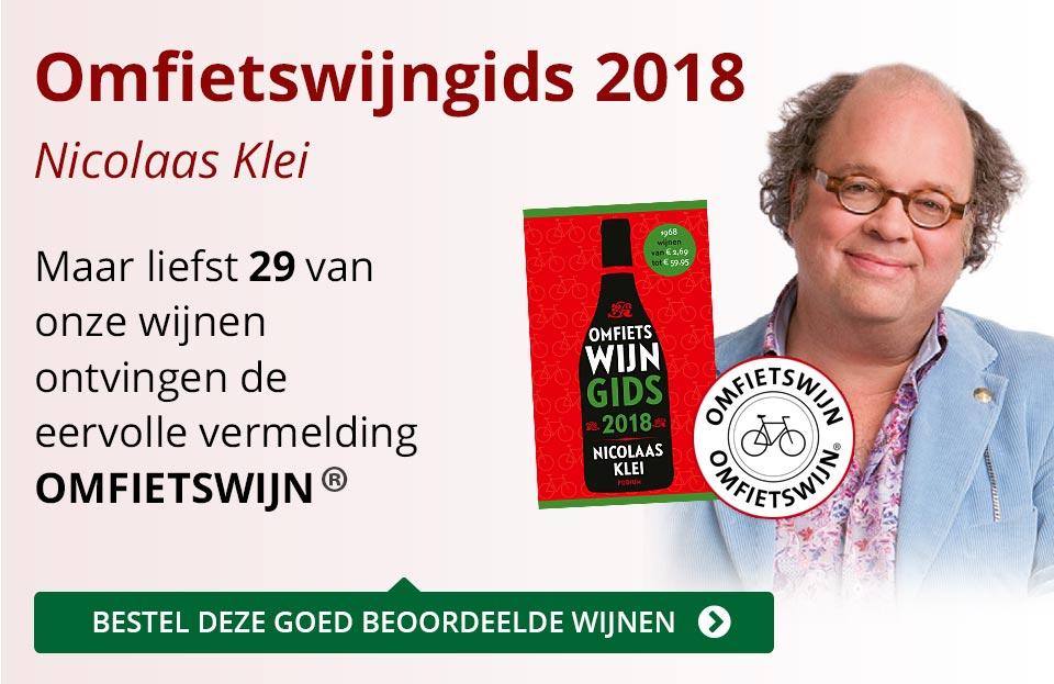 Omfietswijngids 2018 - rood