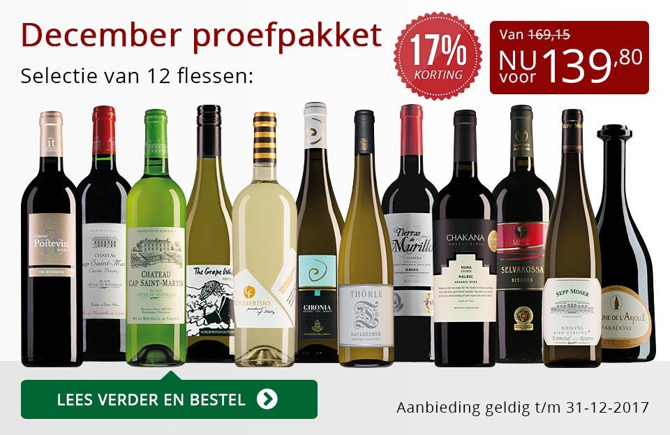 Proefpakket wijnbericht december (139,80) - rood