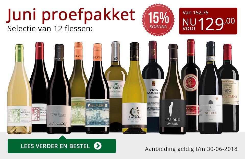 Proefpakket wijnbericht juni 2018 (129,00) - rood