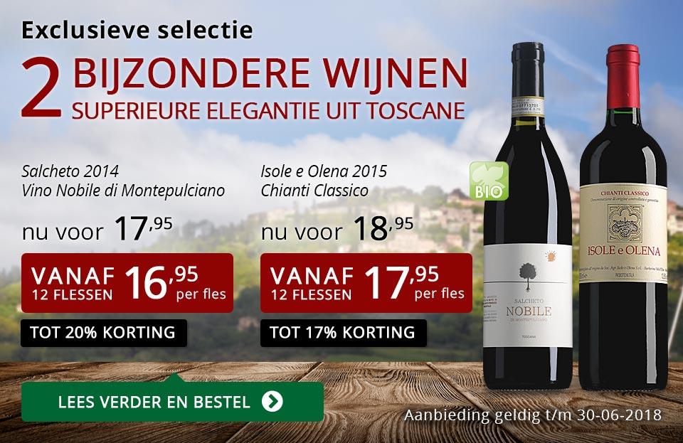 Exclusieve wijnen juni 2018 - rood