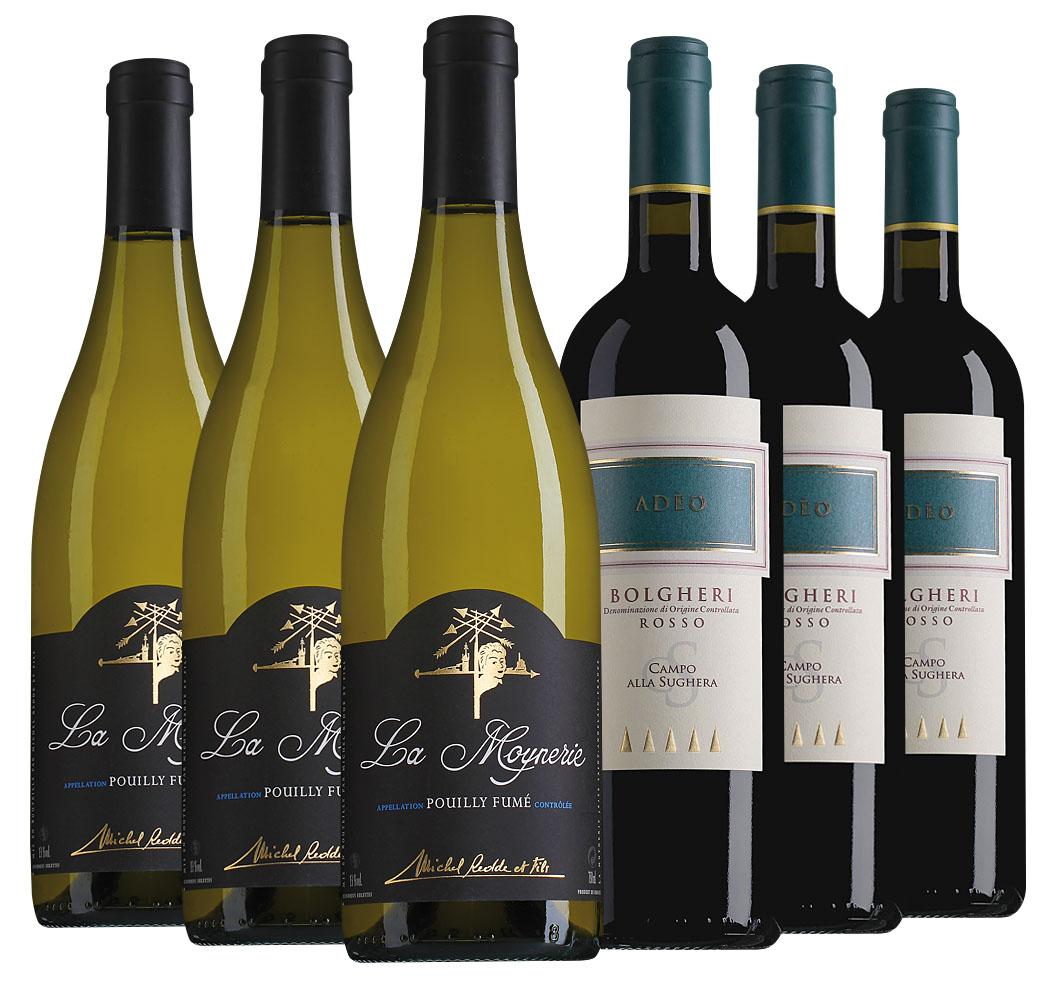 Proefpakket bijzondere wijnen augustus (2x3 flessen)
