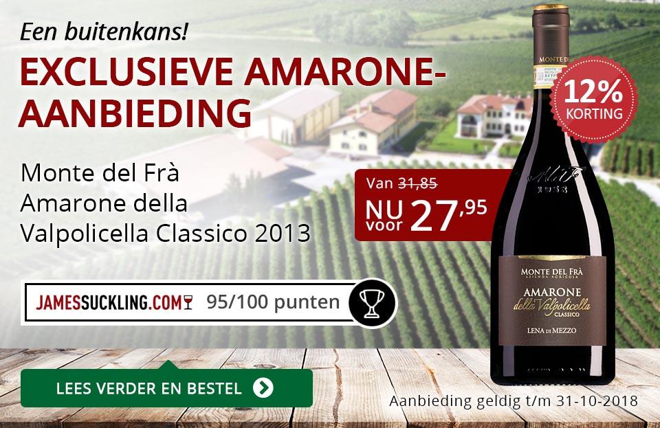 Exclusieve Amarone-aanbieding - rood