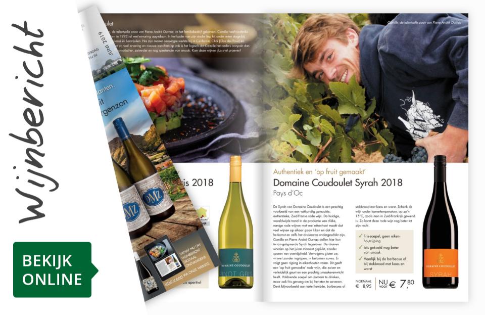Online wijnbericht juni 2019