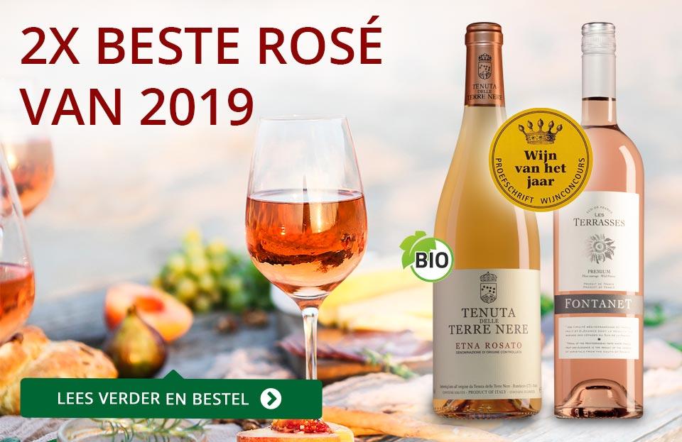 Proefschrift Wijnconcours 2019: Rosé van het Jaar - rood