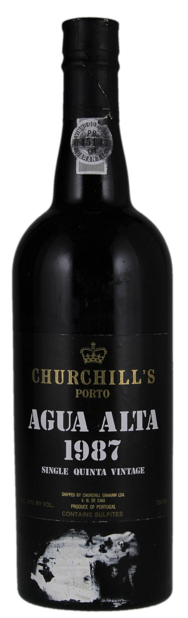 Churchill's Vintage Port  Quinta Agua Alta