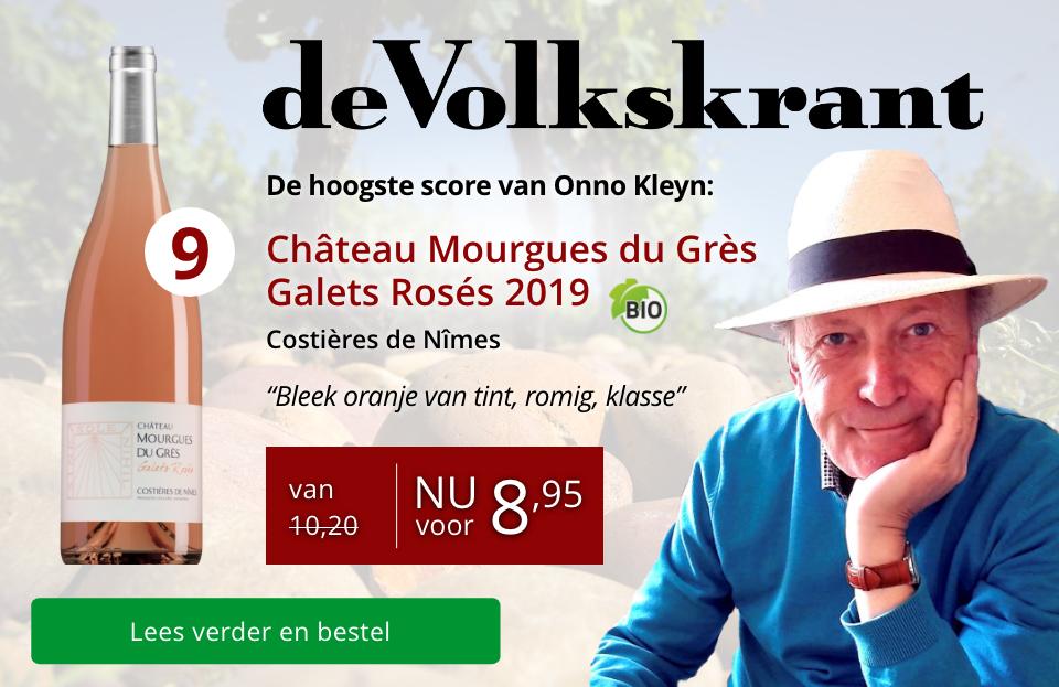 Volkskrant Mourgues du Grès Galets Rosés 2019 - Rood