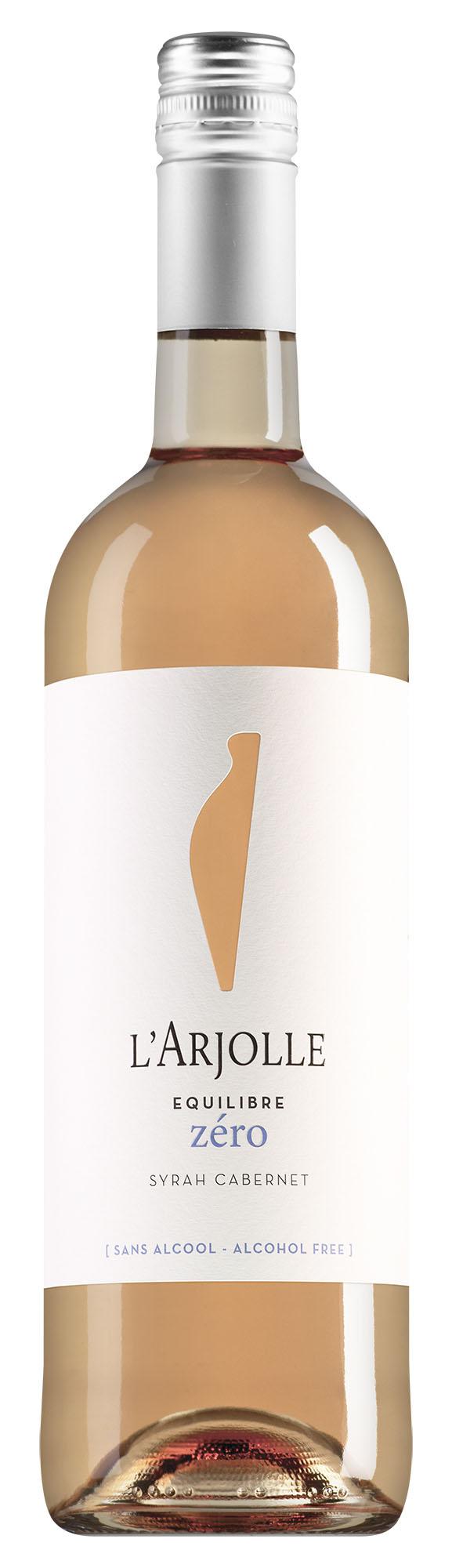 L'Arjolle Côtes de Thongue Equilibre Zéro Syrah-Cabernet Rosé alcoholvrij