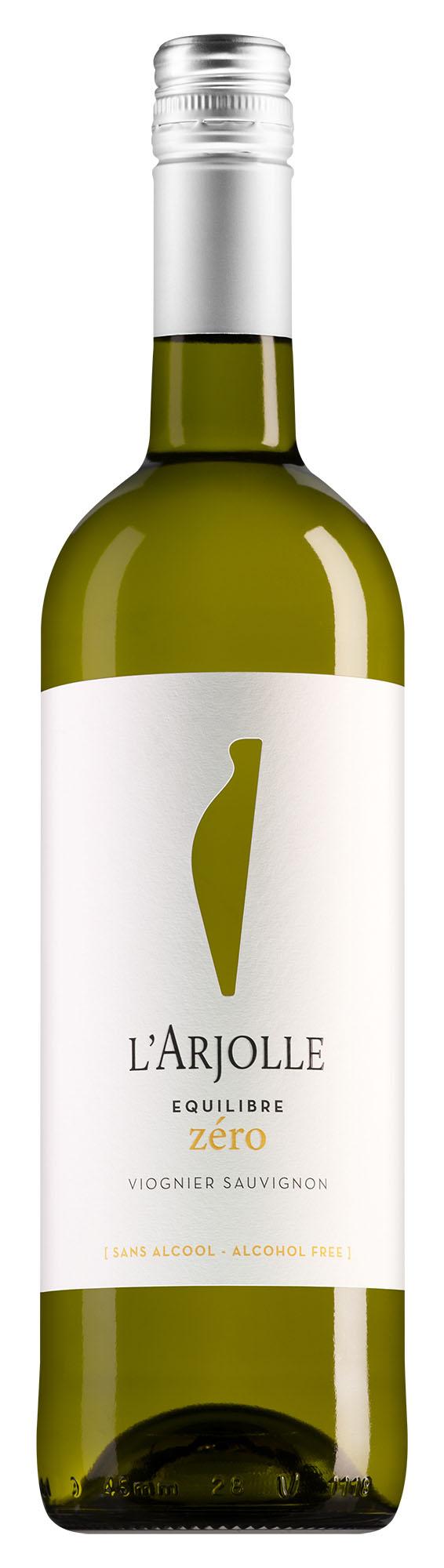 L'Arjolle Côtes de Thongue Equilibre Zéro Viognier-Sauvignon Blanc alcoholvrij
