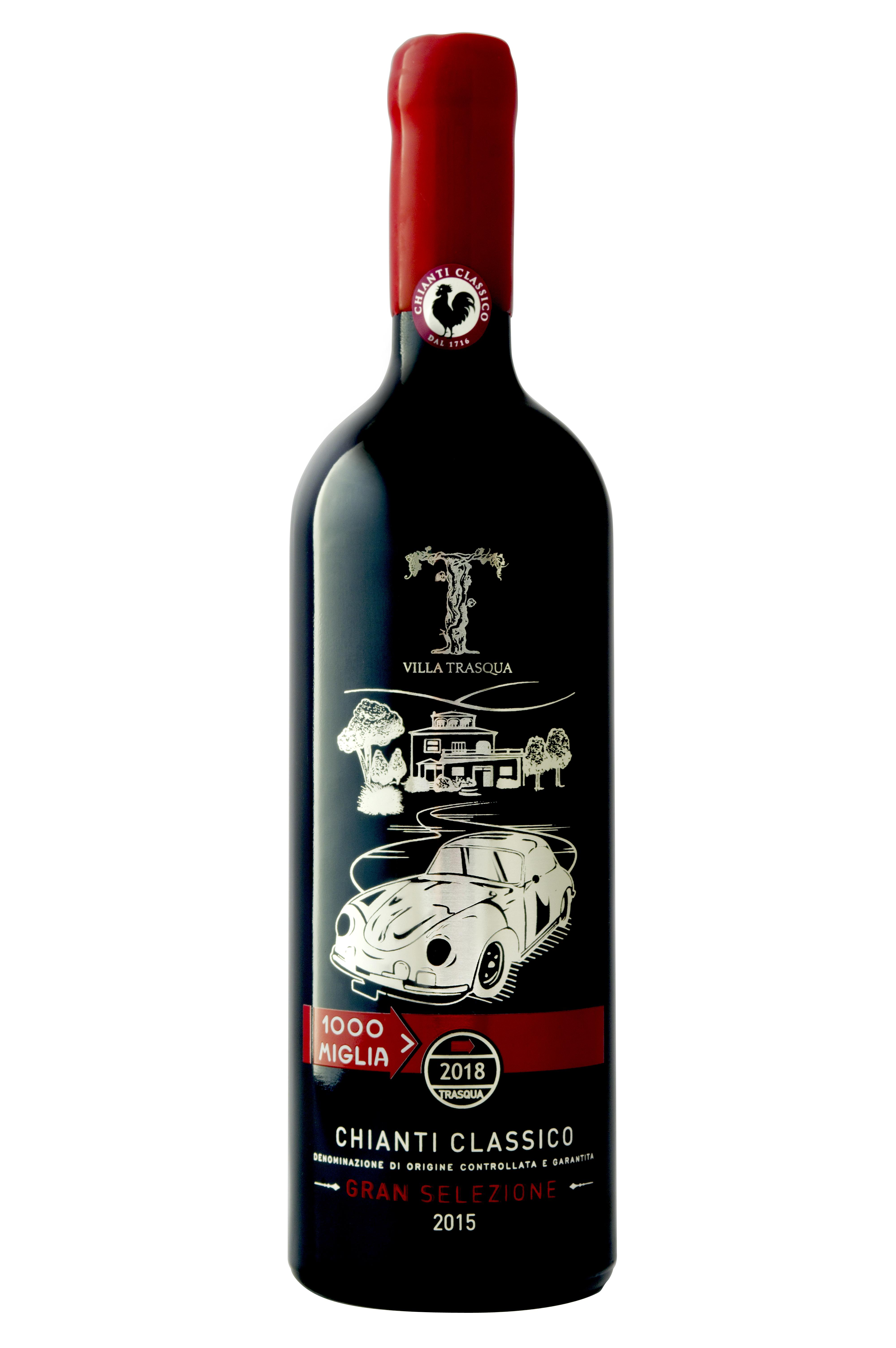 Villa Trasqua Chianti Classico Gran Selezione Magnum Porsche