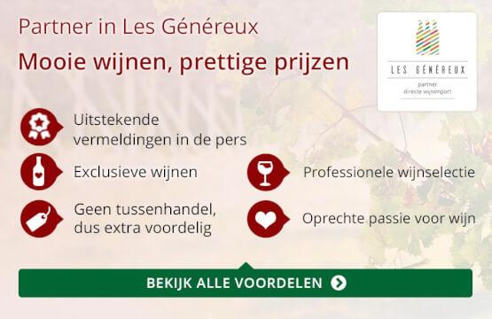 Partner in Les Genereux - rood