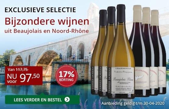 Wijnpakket bijzondere wijnen april 2020 (97,50)-rood